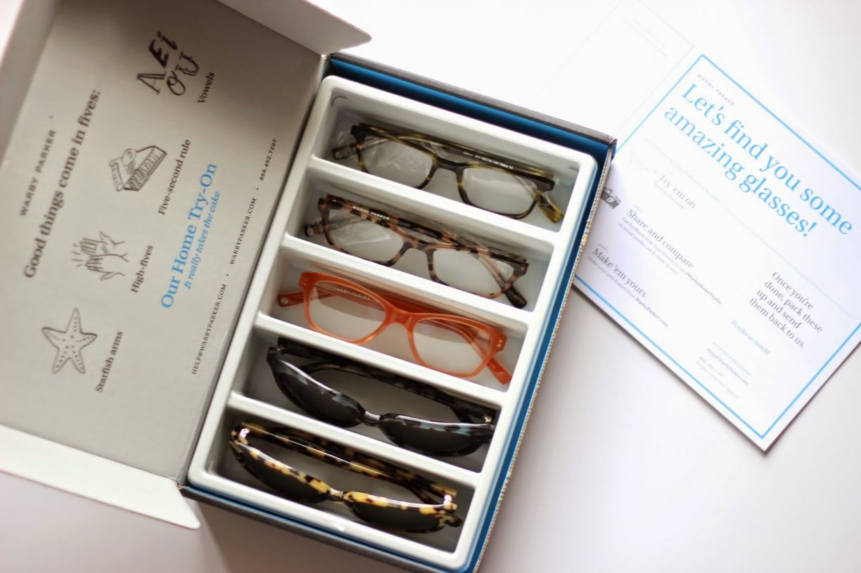 Warby Parker: Home Try-On Program