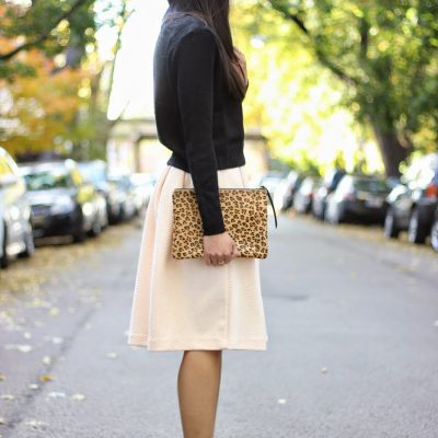 Midi Skirt + Crop Top