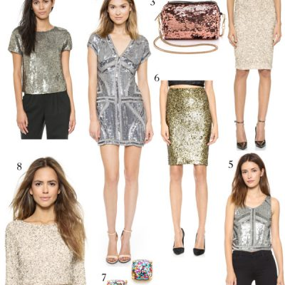 Holiday Style: Sequins