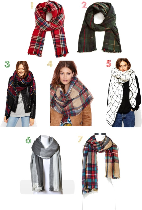 Blanket Scarves: All under $40!
