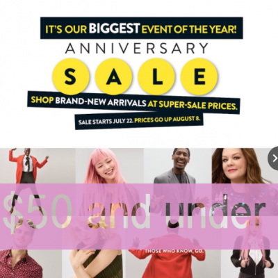 Nordstrom Anniversary Sale $50 and under