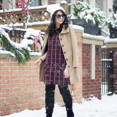 Simple Holiday Dress