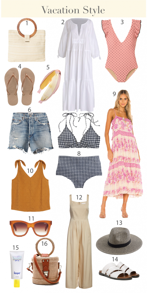 Vacation Style - Vacation Outfit Ideas