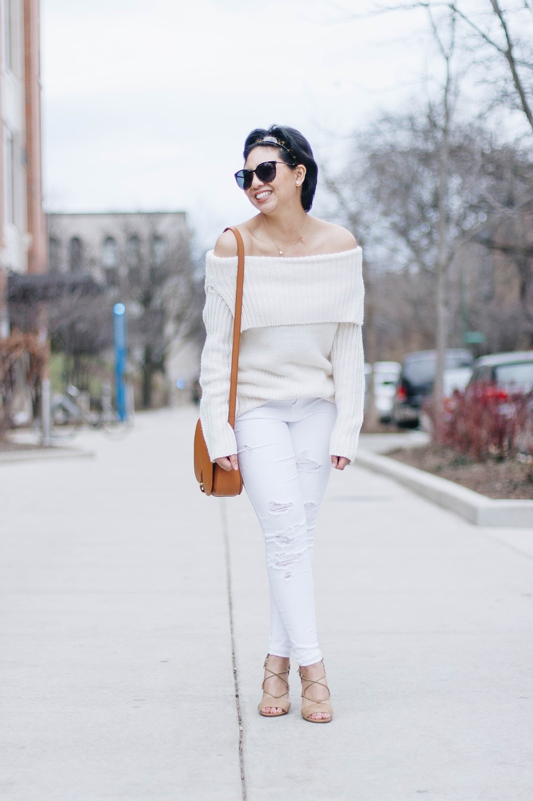 Off the Shoulder Sweater - RD's Obsessions