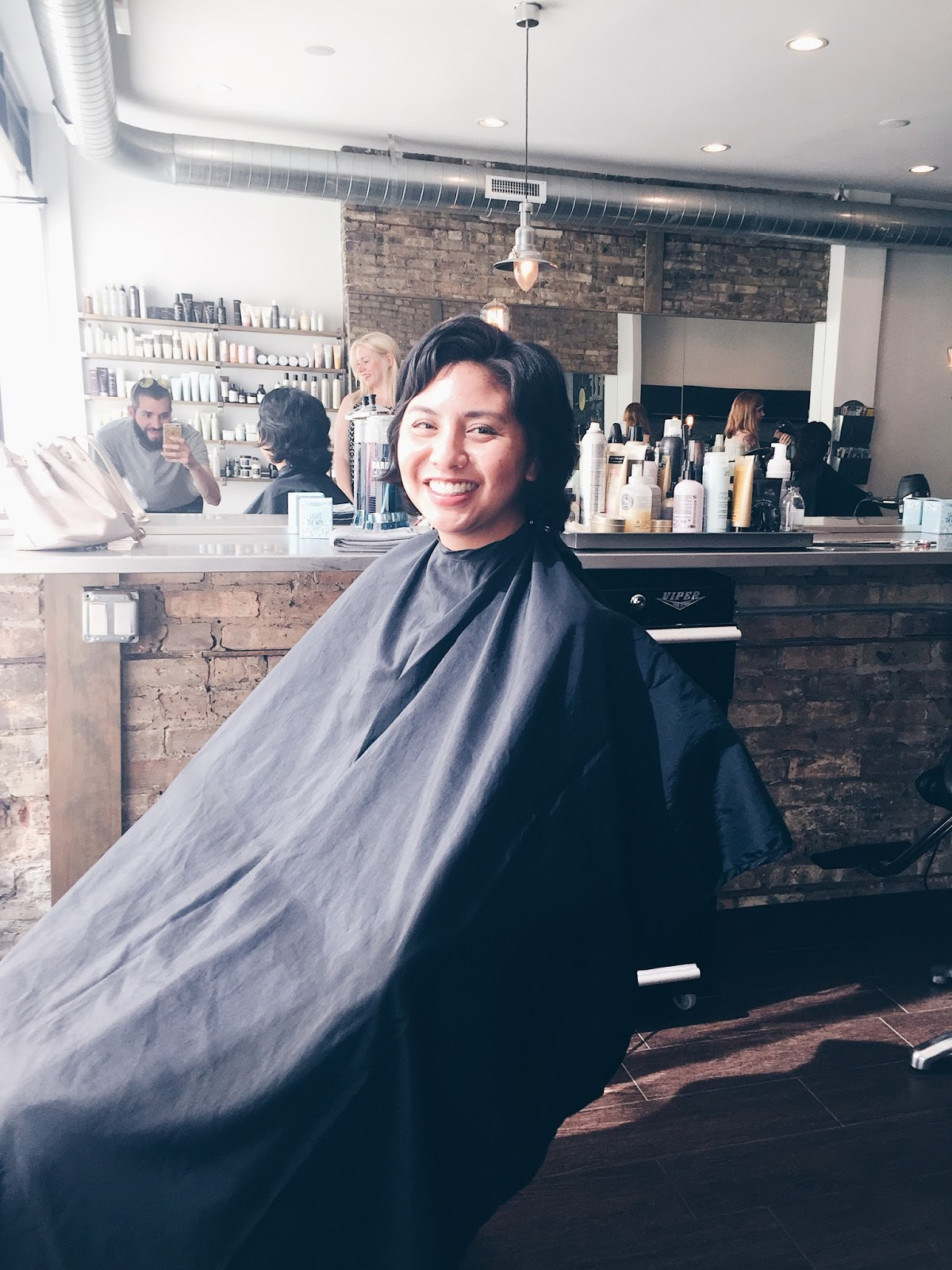 My First Haircut Post Chemo