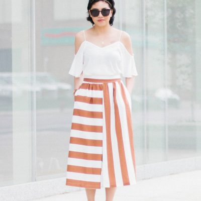Mixed Stripe Culottes and Other Stripe Culotte Options
