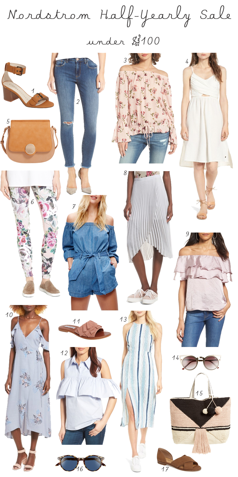 Nordstrom Half Year Sale for under $100