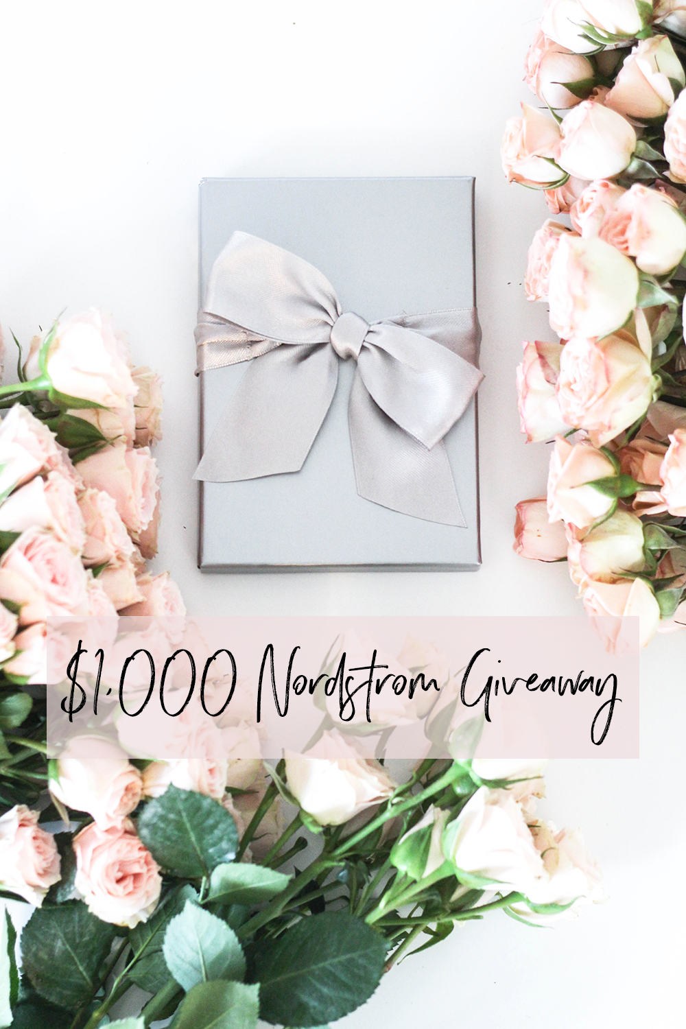 Enter to win $1000 Nordstrom Gift Card Giveaway