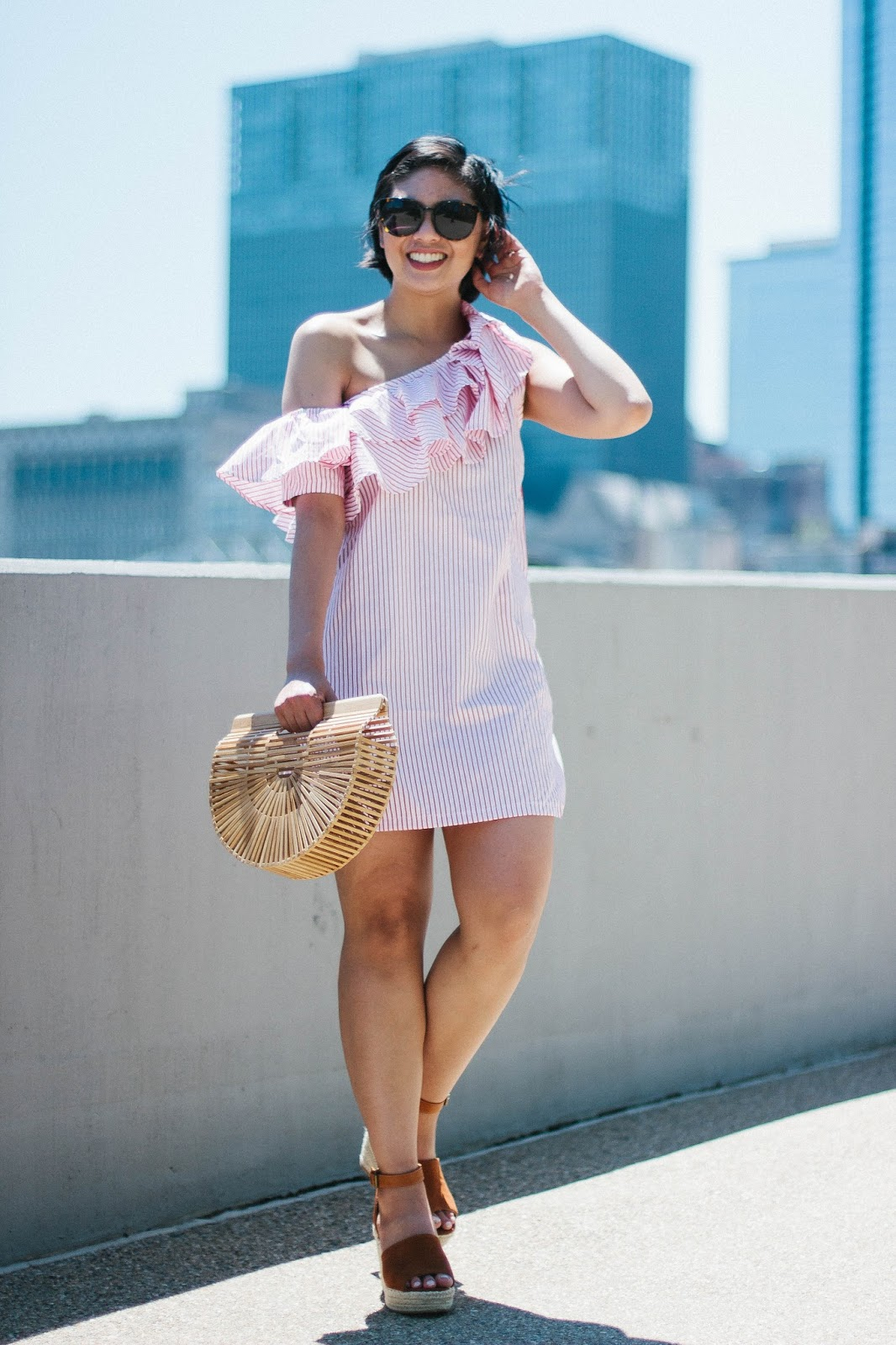 The perfect dress for a hot summer day.