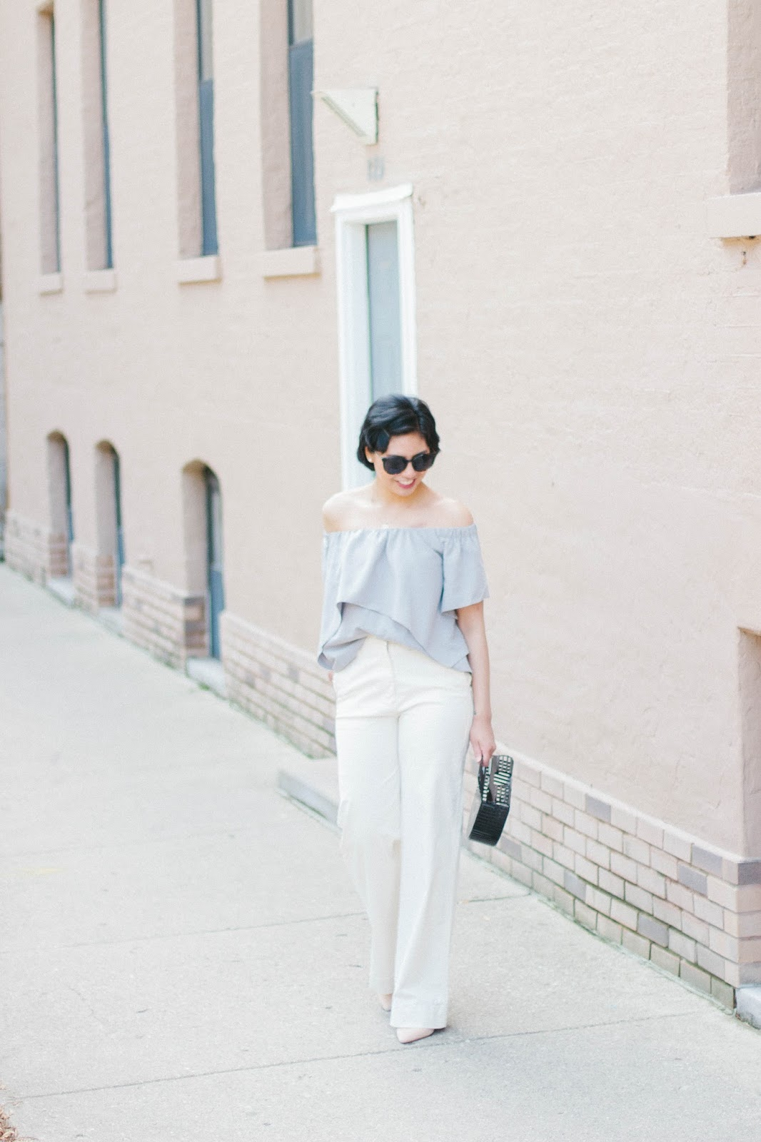 Affordable White Wide-Leg Pants for under $200