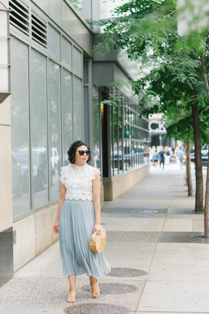 3 Different Ways To Style A Lace Crop Top