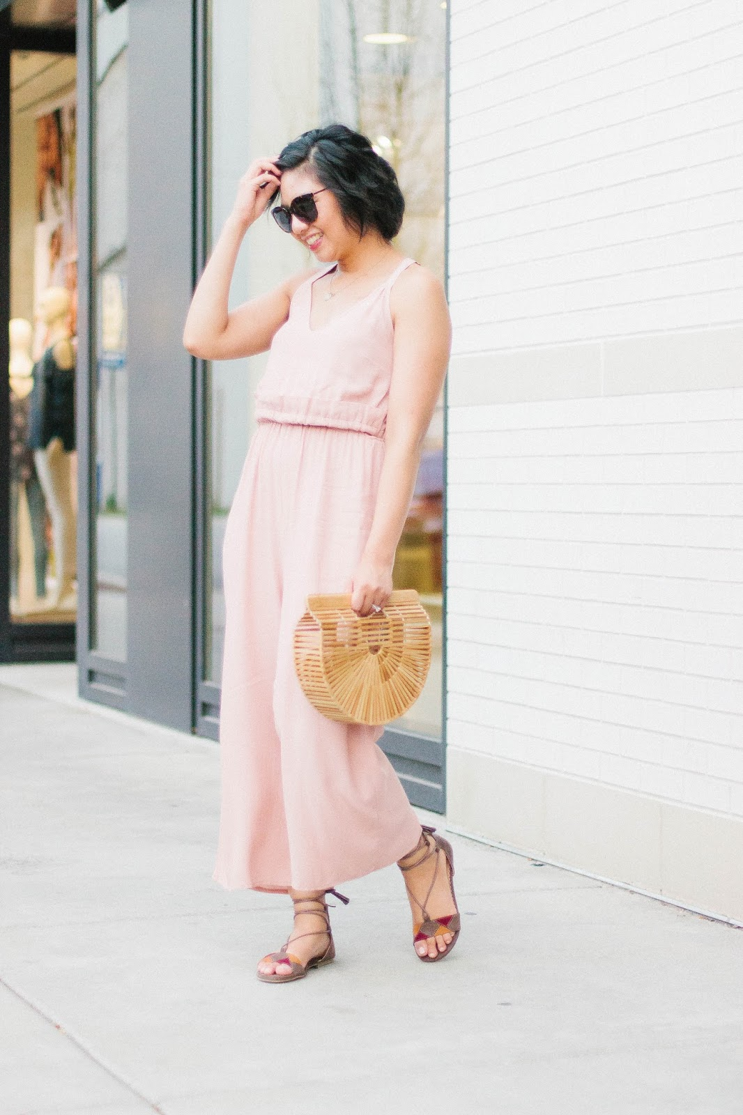 The best thing to wear during late summer is a jumpsuit