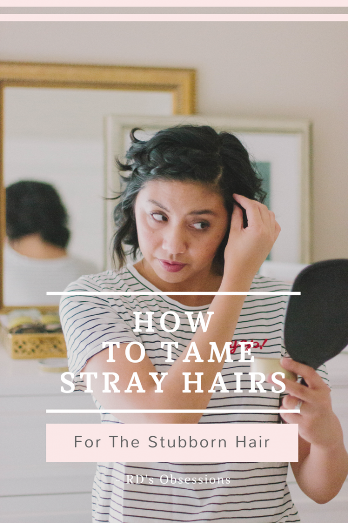 How To Tame Stray Hairs for Stubborn Hair is with Davines Moulding Clay