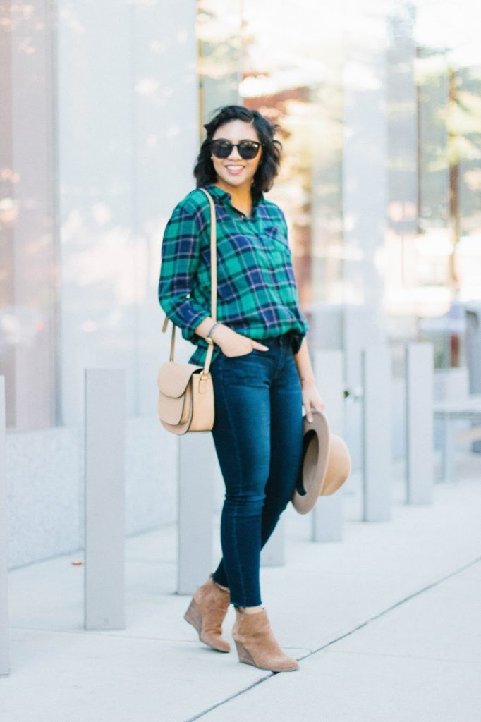 The Boyfriend Fit Plaid Shirt Is the Best Style of Shirt