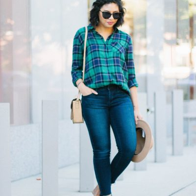 My Favorite Boyfriend Plaid Shirt I Purchased This Year + Nordstrom Giveaway