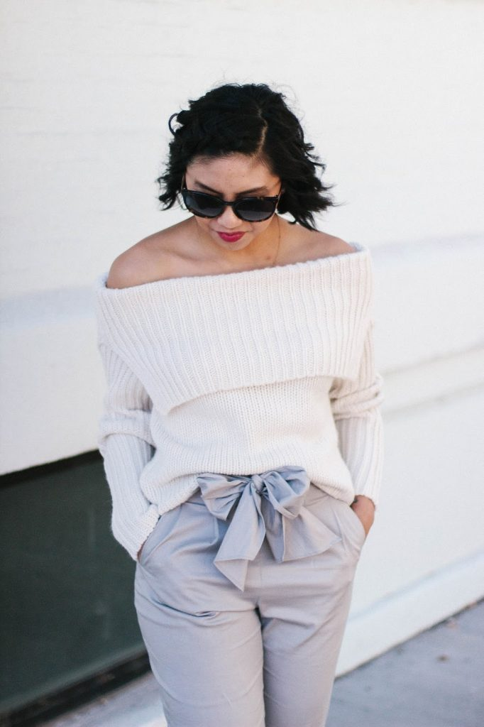 How To Wear Off The Shoulder From Summer to Fall