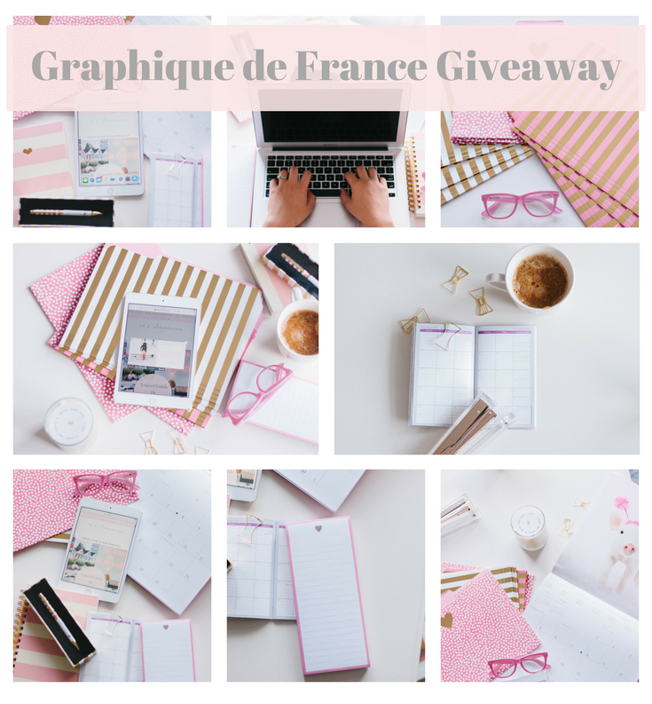 Graphique de France Giveaway