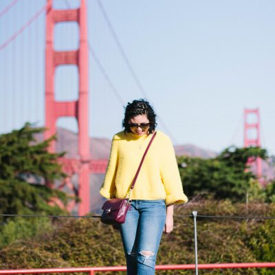 The Yellow Sweater I Can't Stop Wearing