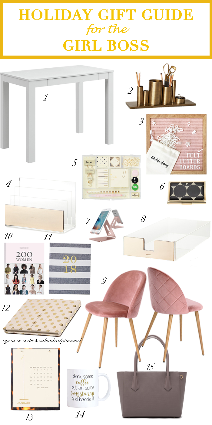Holiday Gift Guide For The Girl Boss Rd S Obsessions