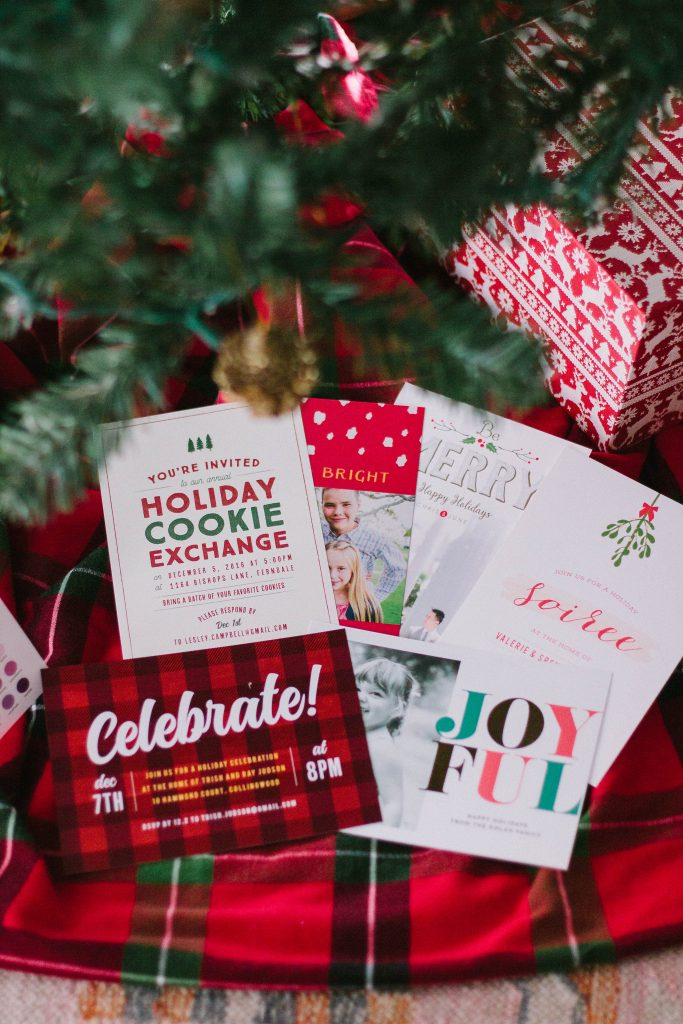 cutest holiday invitations