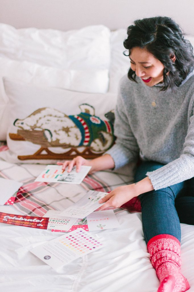 the cutest holiday invitations