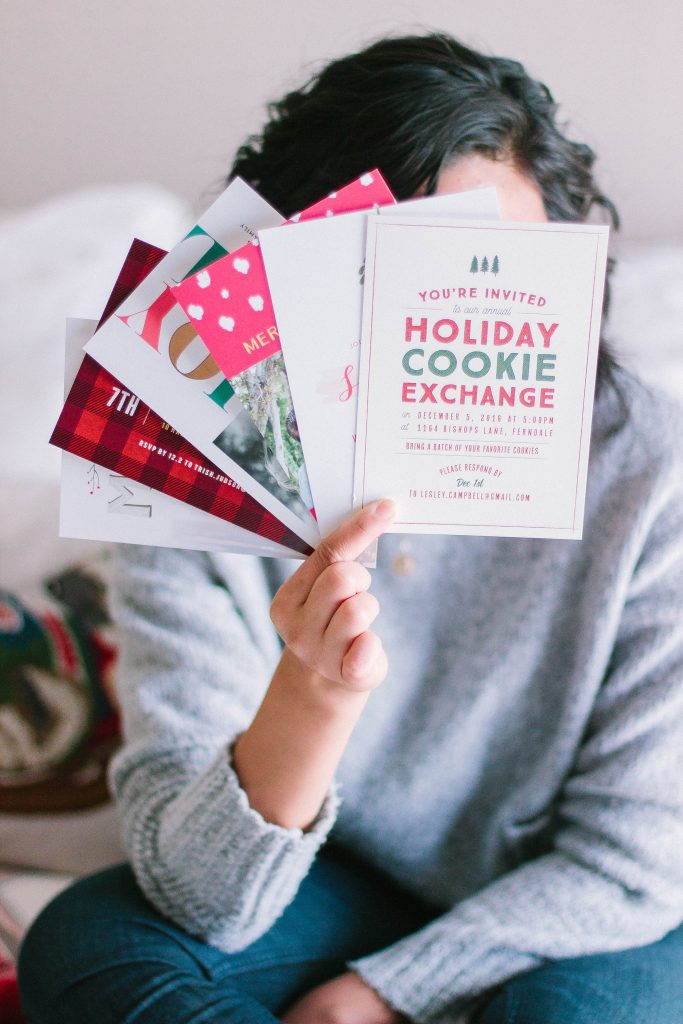 Cute Holiday Invitations and Holiday Cards