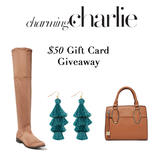 charming charlie giveaway