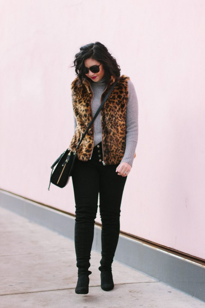 Affordable Faux Fur Leopard Print Pieces