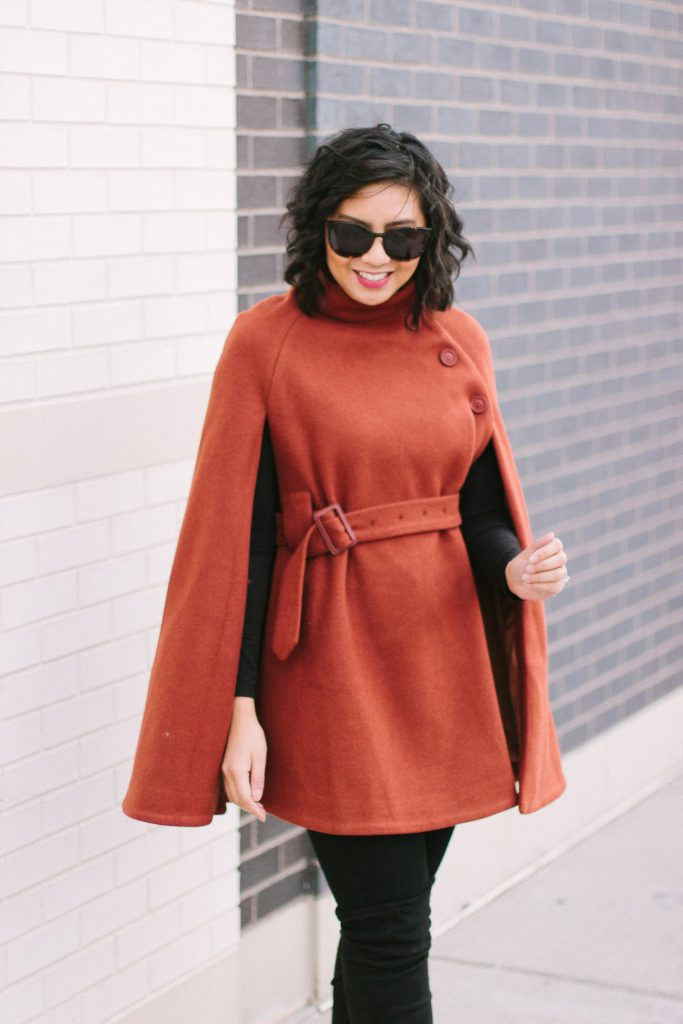 How to Wear a Wool Cape