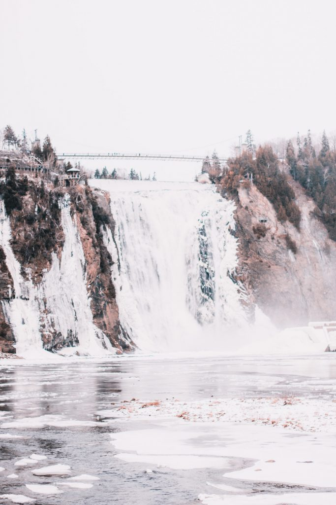 Travel Guide to Quebec City - Montmorency Falls