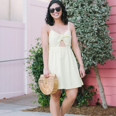 The $22 Cut Out Dress I Bought and Surprise News