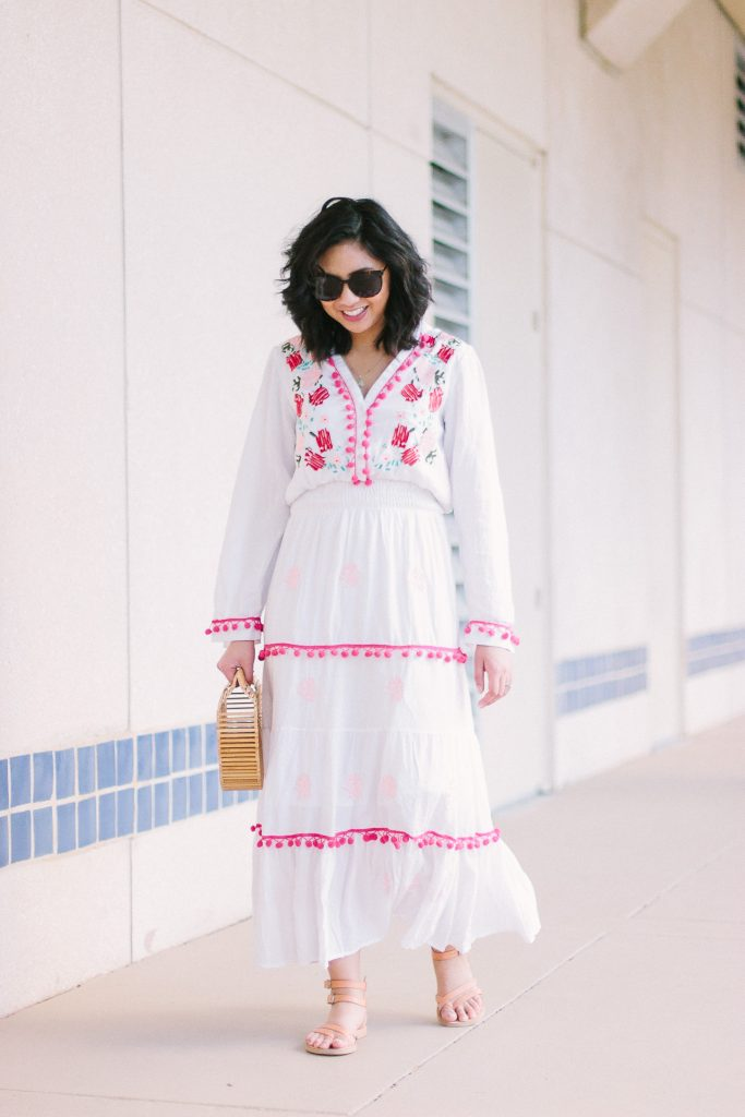 The Pom Pom Dress You Need This Spring