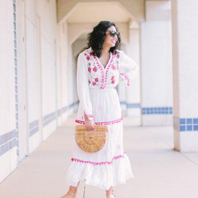 The Pom Pom Dress You Need This Spring