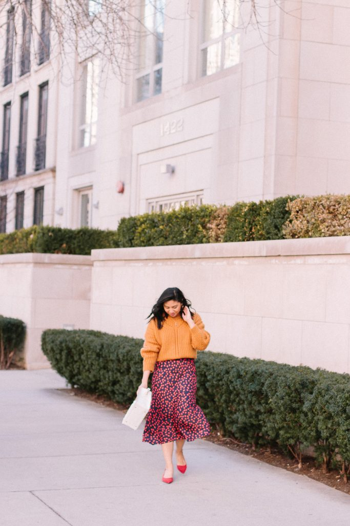 How to wear spring clothes when it feels like Winter