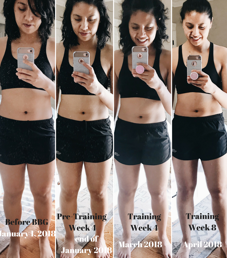 My BBG Fitness Journey Week 5-8