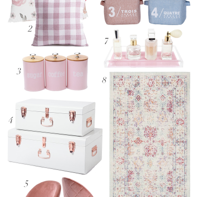 Pink Accent Decor From Amazon + Amazon Giveaway