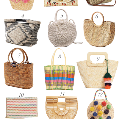 Favorite Straw Bags For The Season