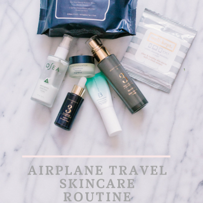 Airplane Travel Skincare Routine