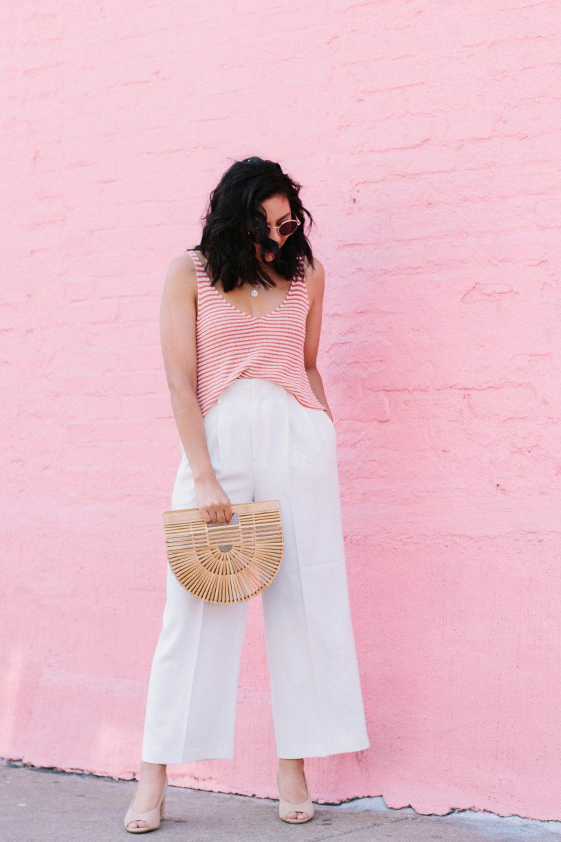 The Hunt For The Perfect Flowy White Pants