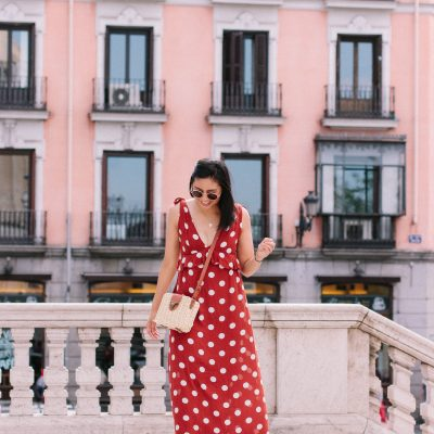 The Polka Dot Maxi Dress I Wore Around Madrid