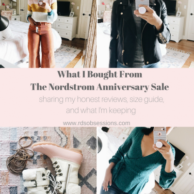 What I Bought From The Nordstrom Anniversary Sale 2018