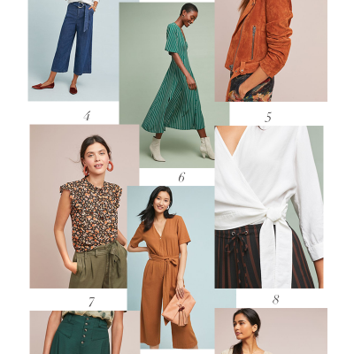 My Favorite Anthropologie Fall Pieces + Giveaway