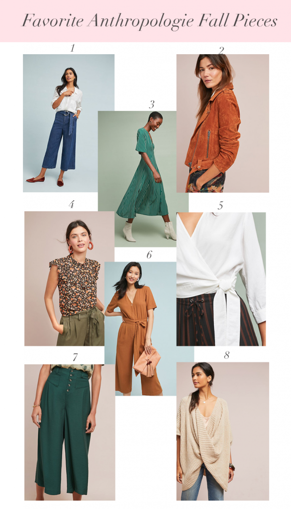 My Favorite Anthropologie Fall Pieces