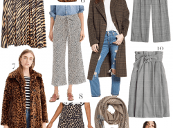 Fall Trends 2018: Animal Print & Glen Plaid