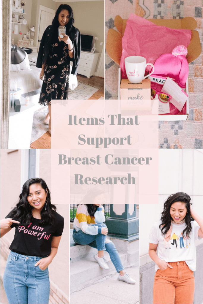 Items that Contribute to Breast Cancer Research