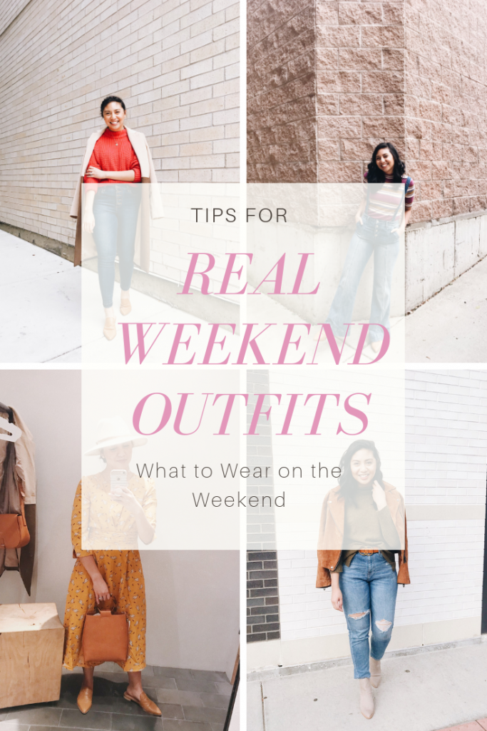 Real Weekend Outfits - What to Wear on the Weekend