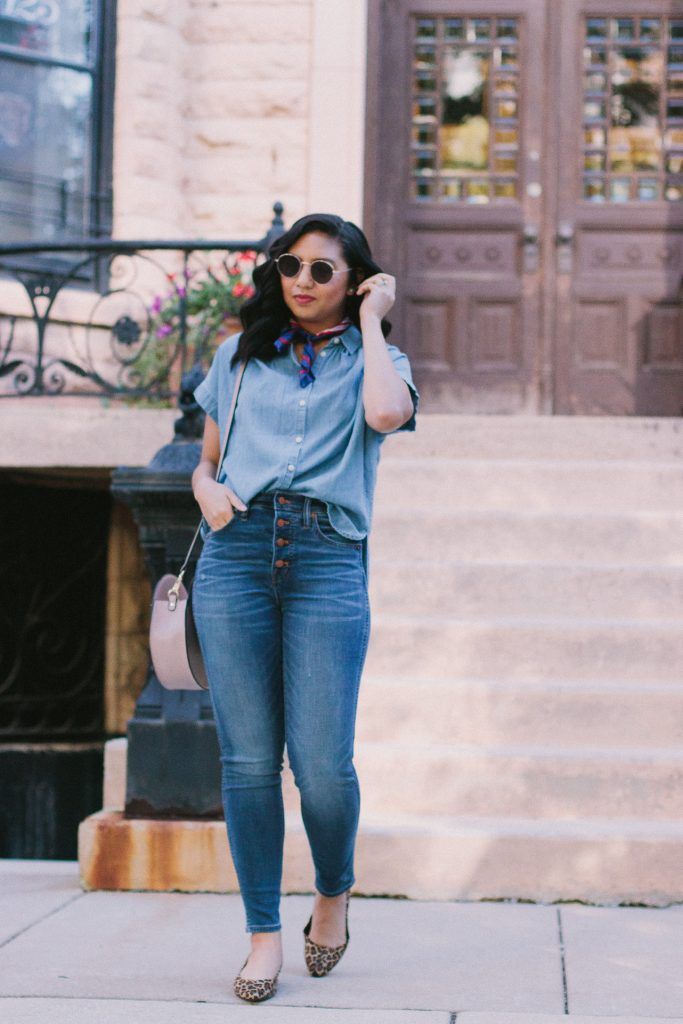 How to Look Chic In A Canadian Tuxedo