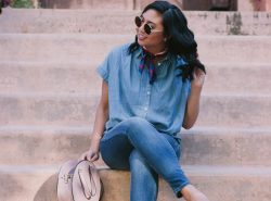 How to Look Chic In A Canadian Tuxedo.