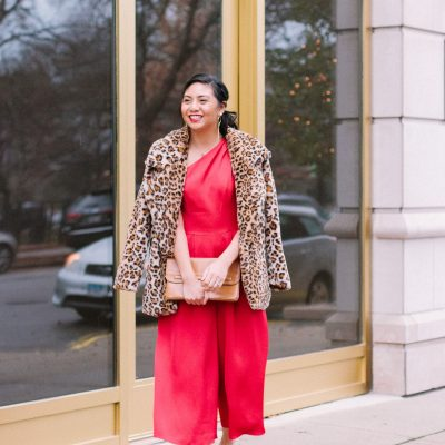 The Best Red Jumpsuit For The Holidays
