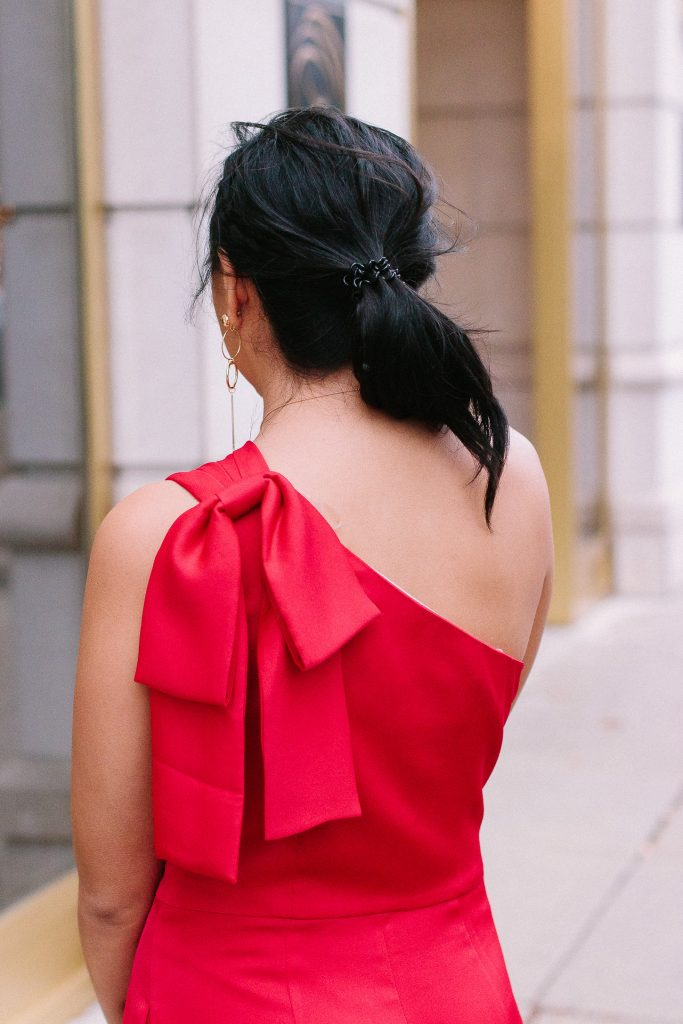 The Best Red Jumpsuit For The Holidays From The Gal Meets Glam Collection